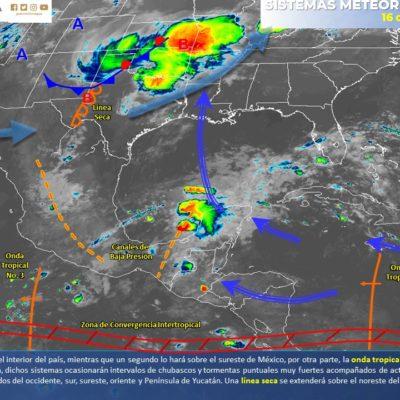 PRONÓSTICO DEL CLIMA: Domingo caluroso con probables lluvias aisladas