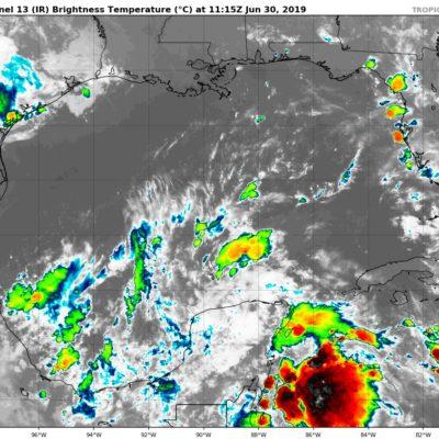 PRONÓSTICO DEL CLIMA: Lluvias aisladas con actividad eléctrica en Quintana Roo