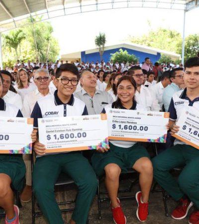 ADIOS A 'PROSPERA': Concentran poco más de 69 mil 500 mdp para destinarlos a becas para el bienestar