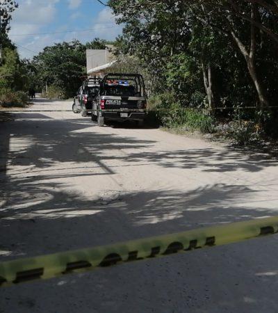 ACTUALIZACIÓN | LO CASTIGARON A 'TABLAZOS' Y LUEGO LO MATARON A GOLPES: Con huellas de tortura, encuentran un cuerpo sin vida en 'El Pedregal' de Cancún