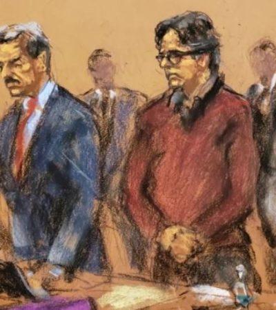 Declaran culpable de todos los cargos a Keith Raniere, líder de secta que reclutaba esclavas sexuales