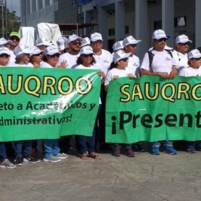 Integrantes del Sauqroo confían en que reunión con Ángel Rivero logre avances en la revisión del contrato colectivo