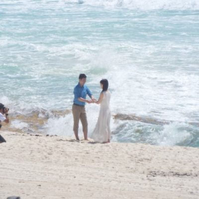 Playa Delfines continúa siendo el mayor atractivo para realizar fotos de bodas en Cancún