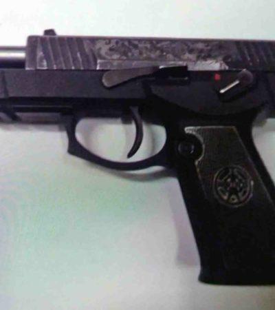 Tras disparar contra un policía estatal, detienen a cuatro sujetos que participaron en un asalto en Villas del Sol