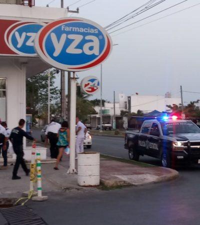 Detienen a un asaltante de farmacias en Chetumal