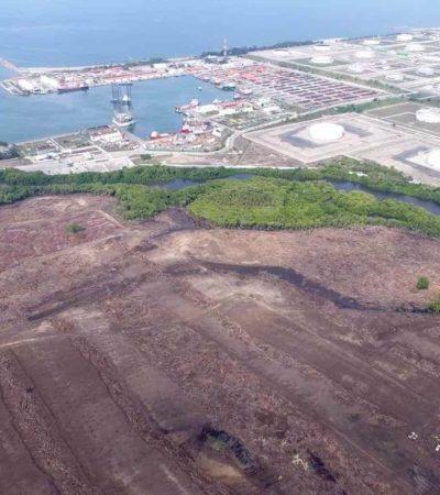 Pondrían inundaciones en grave riesgo a refinería en Dos Bocas, alerta experto en cambio climático