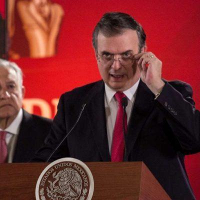 Revela Trump que hay 'acuerdos secretos' que comprometen a México; Ebrard lo niega…