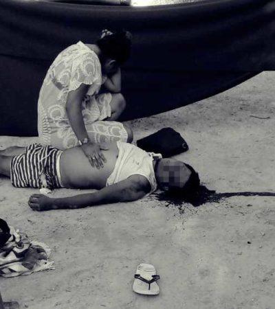 EJECUCIÓN EN BACALAR: Asesinan de un balazo a un hombre en balneario de Xul Ha
