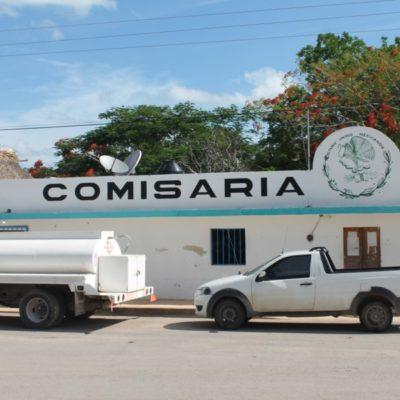 Ejidatarios de Lázaro Cárdenas incautan camionetas de empresa constructora para exigir pago de derecho de vía al gobierno federal