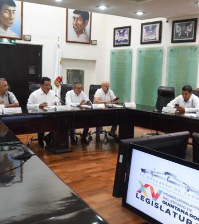 Turnan a comisiones cuatro iniciativas de ley presentadas por integrantes de la XV Legislatura