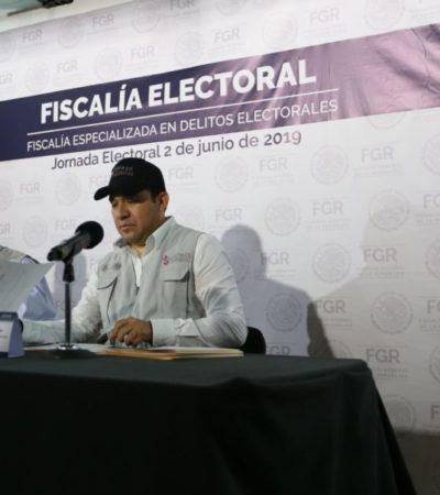 Fepade registra cinco denuncias por delitos electorales en Quintana Roo