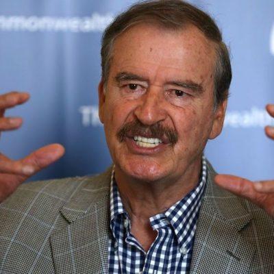 FOX EL ANTIREELECCIONISTA: Convoca el expresidente a marcha contra AMLO el 30 de junio