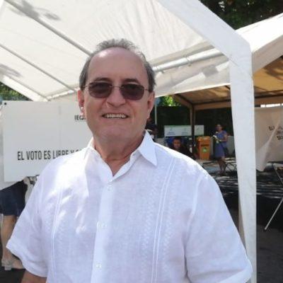 Afirma Francisco López Mena que no se han registrado incidentes en la jornada electoral