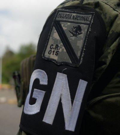 Despliega Guardia Nacional seis mil elementos para vigilar siete cruces fronterizos en Tabasco