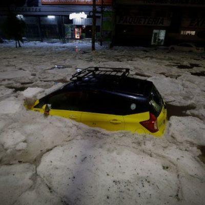 FOTOS | VIDEO | Sepulta granizo la Zona Metropolitana de Guadalajara