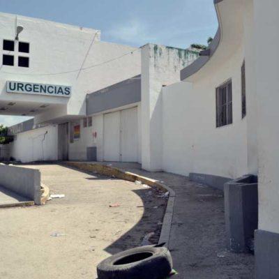"""""""AQUÍ ASALTAN, ROBAN Y SE ESCONDEN EN EL HOSPITAL"""": Sin avances ni estrategias de la Sesa para recuperar el antiguo Hospital General de Cancún"""
