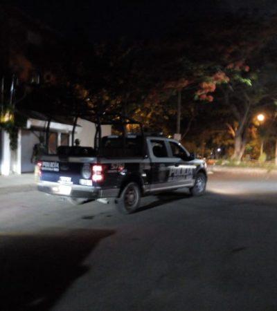 Hieren de un balazo en el pecho a un hombre en el centro de Cancún