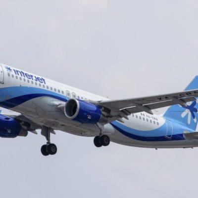 Interjet inicia operaciones de la ruta Cancún-Lima