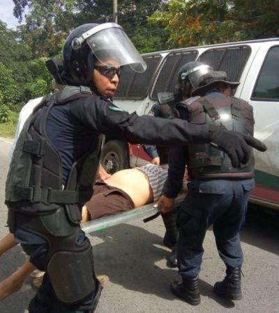 Muere de un infarto migrante guatemalteco tras ser detenido por agentes del INM en Chiapas