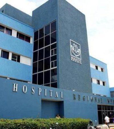 CRISIS SÍ, PERO NO: Versiones contradictorias entre director y subdirectora del Hospital del ISSSTE en Mérida