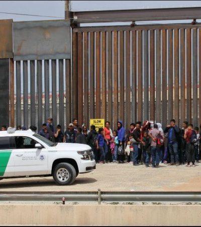 Repunta cifra de migrantes centroamericanos que EU envía a México por Ciudad Juárez
