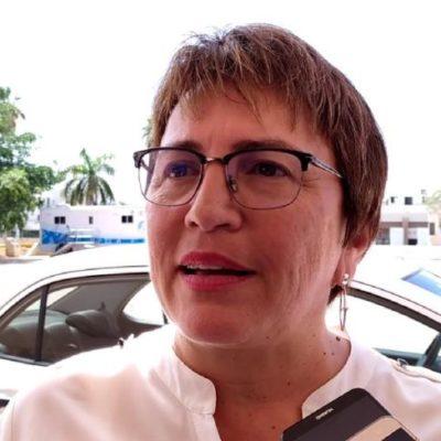 """""""TODO ES PRUEBA Y ERROR"""": Inversión para el combate del sargazo en Solidaridad podría incrementarse en los próximos meses, asegura Laura Beristain"""