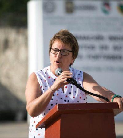 Laura Beristain ratifica a Jorge Robles Aguilar como el nuevo encargado de Seguridad Pública de Solidaridad