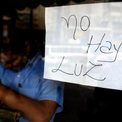 Declaran estado de emergencia en la península de Yucatán por 'bajón' en generación de electricidad