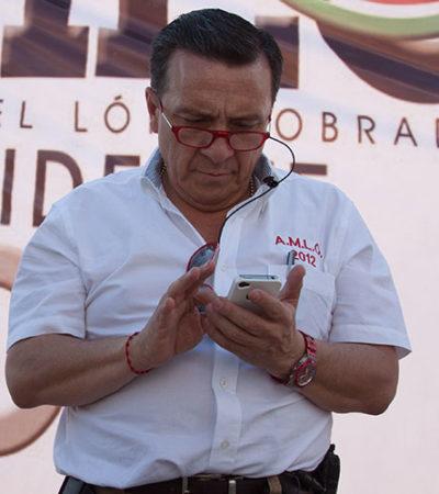 Promueve 'Nico' Mollinedo, exchofer de AMLO, su propio partido político 'Ambientalista Social'