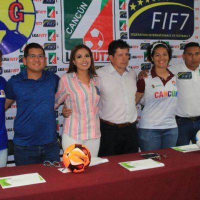 Cancún es la sede de la primera edición de la Liga Fut 7 MX