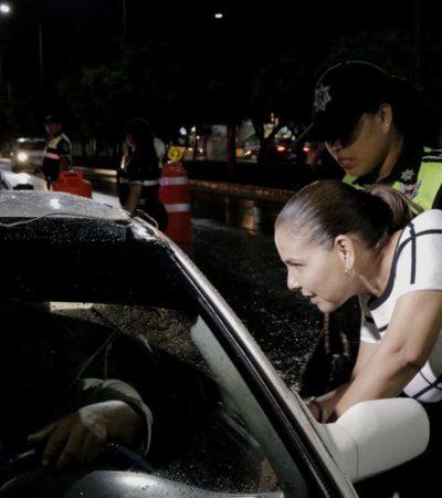 QUIERE MARA QUE 'TIMBRE LA CAJA'… CUALQUIER DÍA DE LA SEMANA: Confirman que alcoholímetro será aleatorio en Cancún