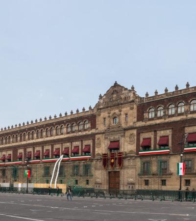 Desalojan a trabajadores de Palacio Nacional para dar cabida a AMLO y su familia que allí se instalarán