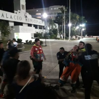 Payaso de Cozumel que exigía cuotas a otros, pierde permiso para presentarse en el parque Quintana Roo