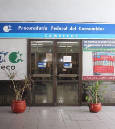 Protestan empleados de Profeco por despidos ante cierre de la delegación en Campeche