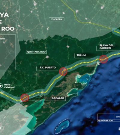Rompeolas: En su visita a Quintana Roo, AMLO enfrentará resistencias por 'Tren Maya'