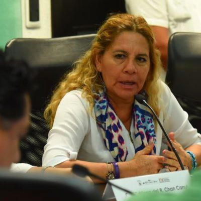 Condena diputada Sonia López reparto de 'pluris' por el Ieqroo