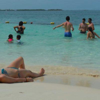 AUMENTA 14% TURISMO EN ISLA MUJERES: Garantizan playas limpias y libres de sargazo