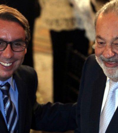 Va Televisa a la caza del mercado de servicios de telefonía liderado por Slim