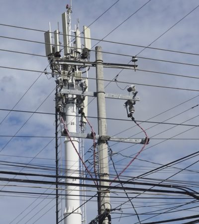 Continúan colonias de Campeche sin energía eléctrica por incendio en subestación de CFE