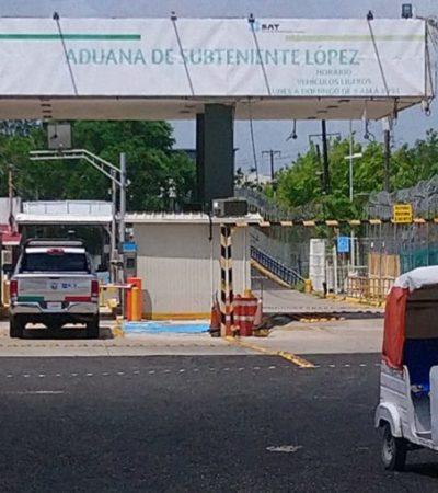 Marina, Ejército y Policía Federal refuerzan presencia en cruces fronterizos de QR con Belice
