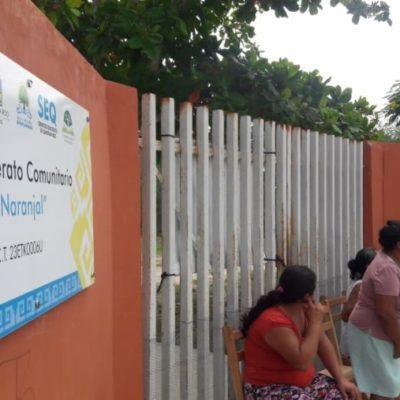 Autoridades educativas acceden a respetar la conformación de grupos en telesecundaria de Naranjal