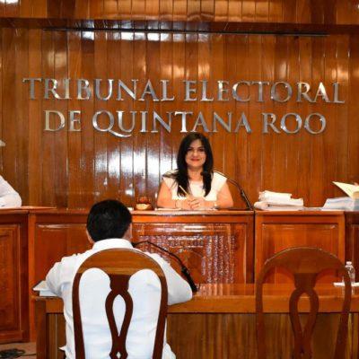 """""""Teqroo resolverá los recursos de nulidad que interpusieron partidos políticos en total apego a la ley"""", asegura Nora Cerón"""