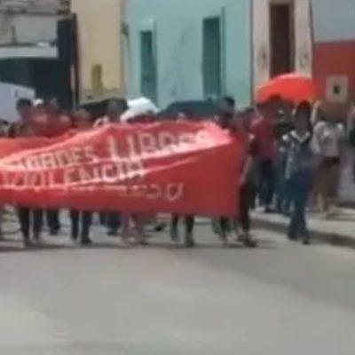 VIDEO   Exigen estudiantes de la UADY castigo para profesor que abusó de alumna en la Prepa Uno