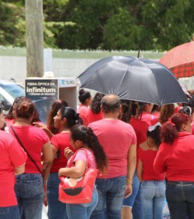 Uniforman a familiares que visitan a reos de la cárcel de Cancún