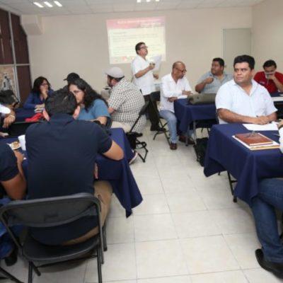 Busca gobierno de QR disminuir violencia con taller sobre prevención de social a funcionarios y periodistas