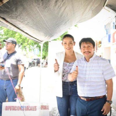 Afirma Víctor Mas que la seguridad y tranquilidad de votantes está garantizada en Tulum