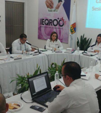 LENTO AVANCE EN INSTALACIÓN DE CASILLAS: Reportan que lluvias complican inicio de votaciones en varios puntos de Quintana Roo