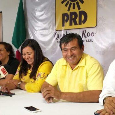 Aseguran dirigentes del PRD que replantearán futuras alianzas con partidos políticos