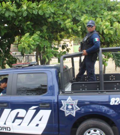 Destinan a un mayor número de policías a Puerto Aventuras