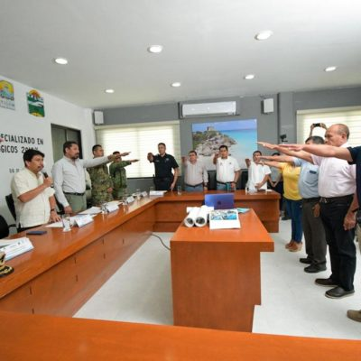 Instalan Comité Operativo Especializado en Fenómenos Hidrometeorológicos 2019 en Tulum